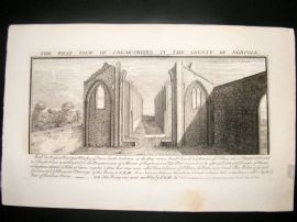Buck C1820 Folio Architecture Print. Creak-Priory, Norfolk
